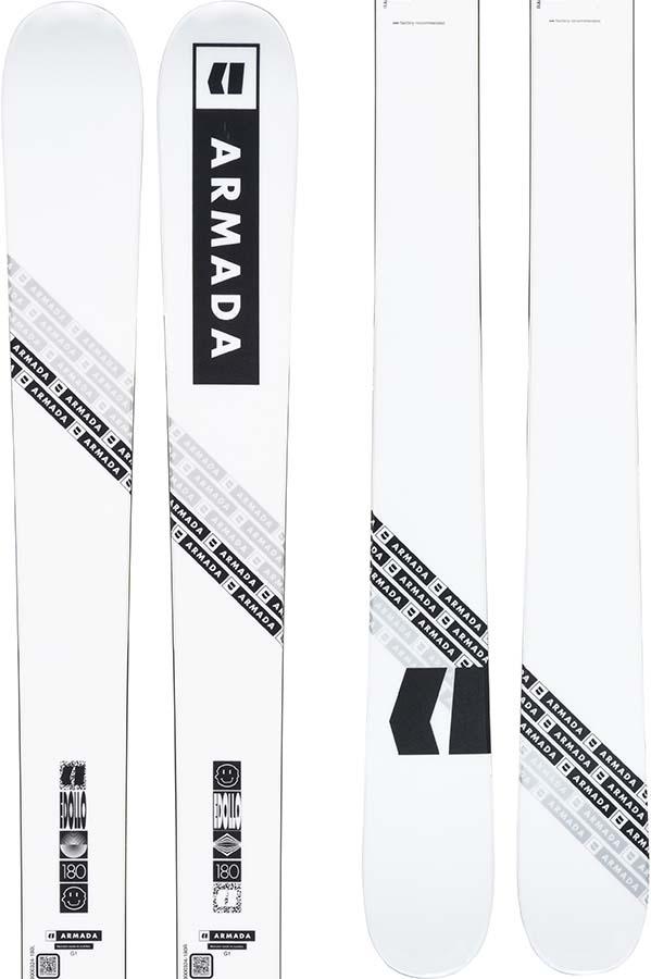 Armada Edollo Skis 180cm, White, Ski Only, 2022
