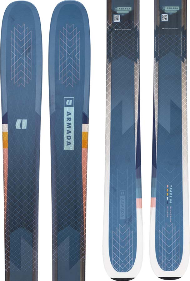 Armada Trace 98 Women's Skis 164cm, Black, Ski Only, 2022