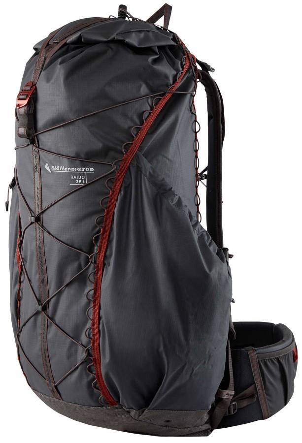 Klattermusen Raido 38 Trekking Backpack, 38L Raven