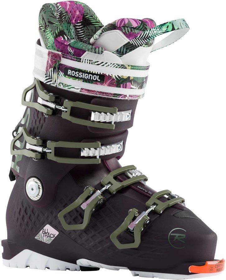 Rossignol Alltrack Elite 120 Womens Ski Boots, 25/25.5 Blackberry 2020