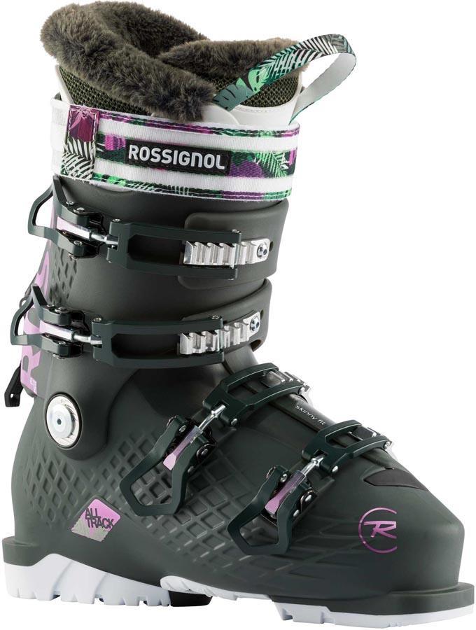 Rossignol Alltrack Elite 90 Womens Ski Boots, 26/26.5 Pine Green 2021