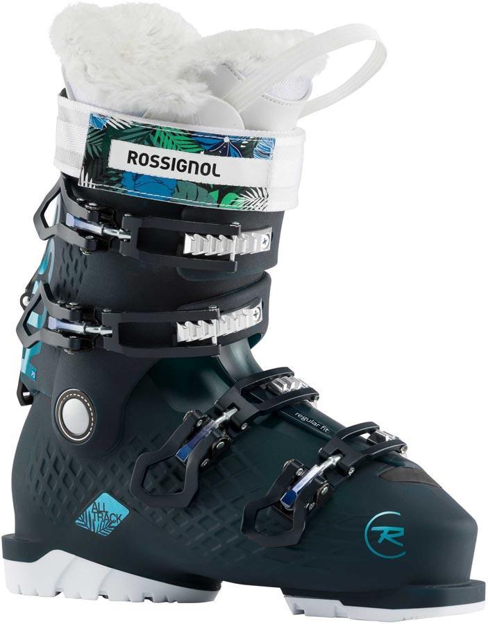Rossignol Alltrack 70 W Women's Ski Boots, 26/26.5 Black/Blue 2020