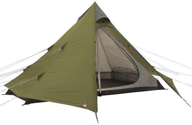Robens Green Cone 4 Tent Camping Tipi Shelter 4 Man Green