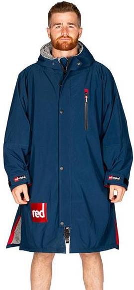 Red Original Pro Change Jacket LS Dressing Dry Robe, L Navy