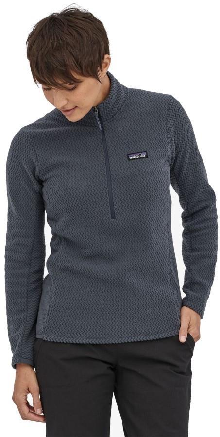 Patagonia R1 Air Zip Neck Women's Fleece Jacket, UK 10 Smolder Blue