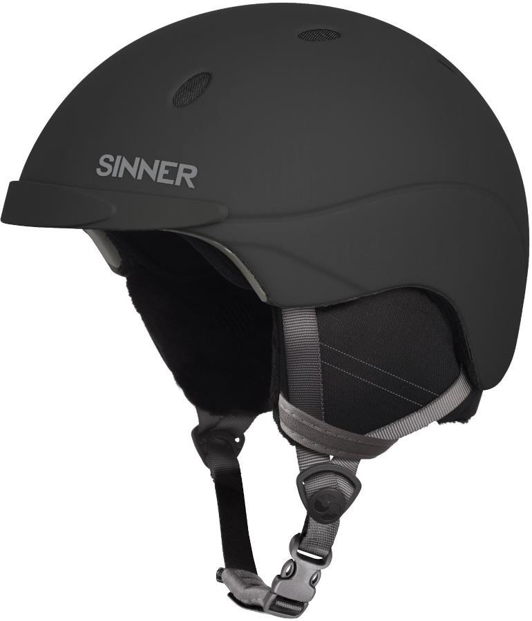 Sinner Titan Ski/Snowboard Helmet, M Matte Black