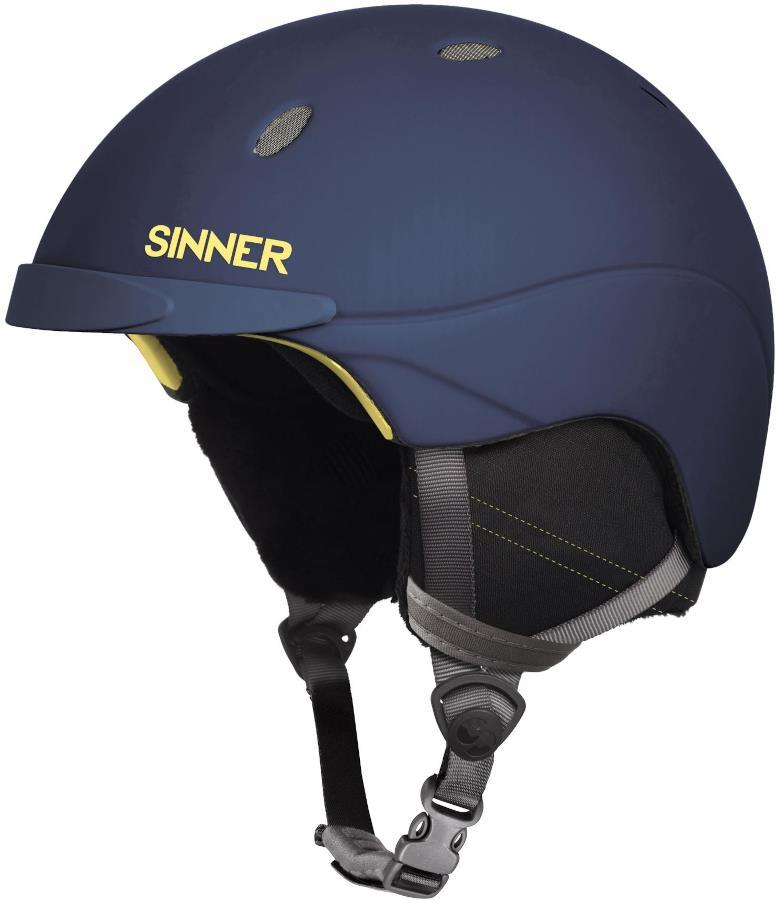 Sinner Titan Ski/Snowboard Helmet, M Matte Dark Blue