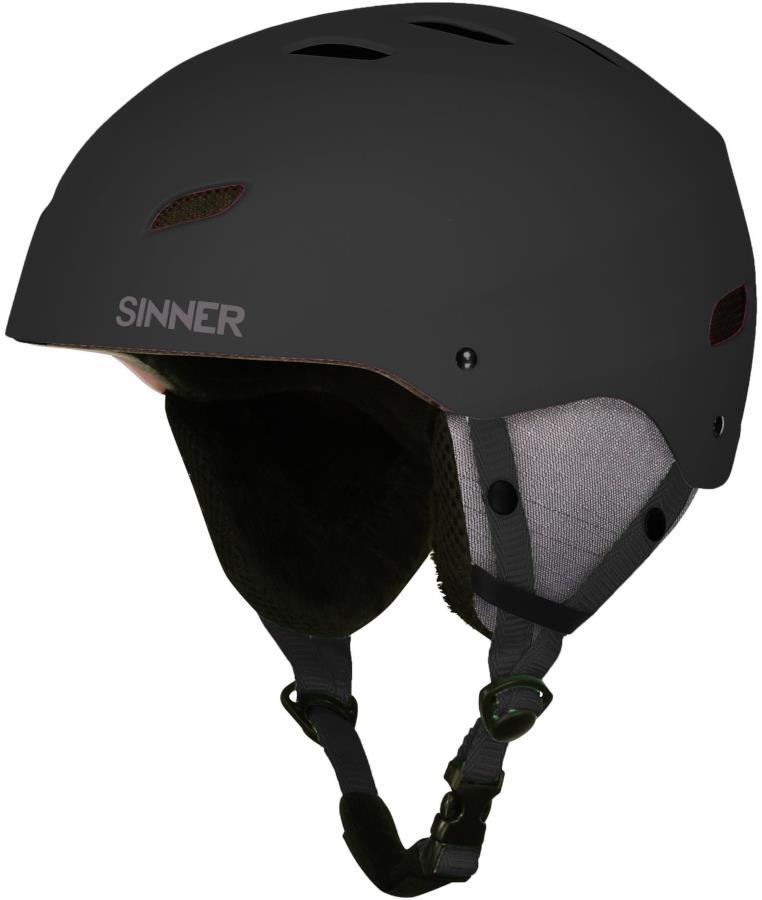 Sinner Bingham Ski/Snowboard Helmet M Matte Black