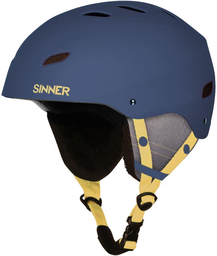 Sinner Bingham Ski/Snowboard Helmet L Matte Blue