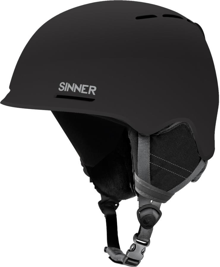 Sinner Fortune Ski/Snowboard Helmet M Matte Black