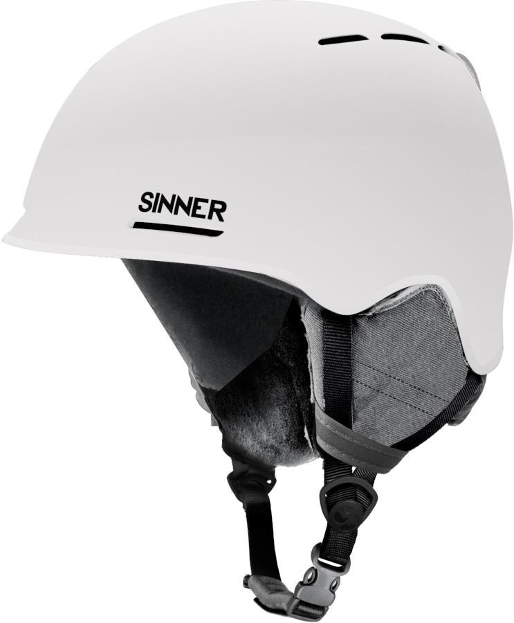 Sinner Fortune Ski/Snowboard Helmet S Matte White