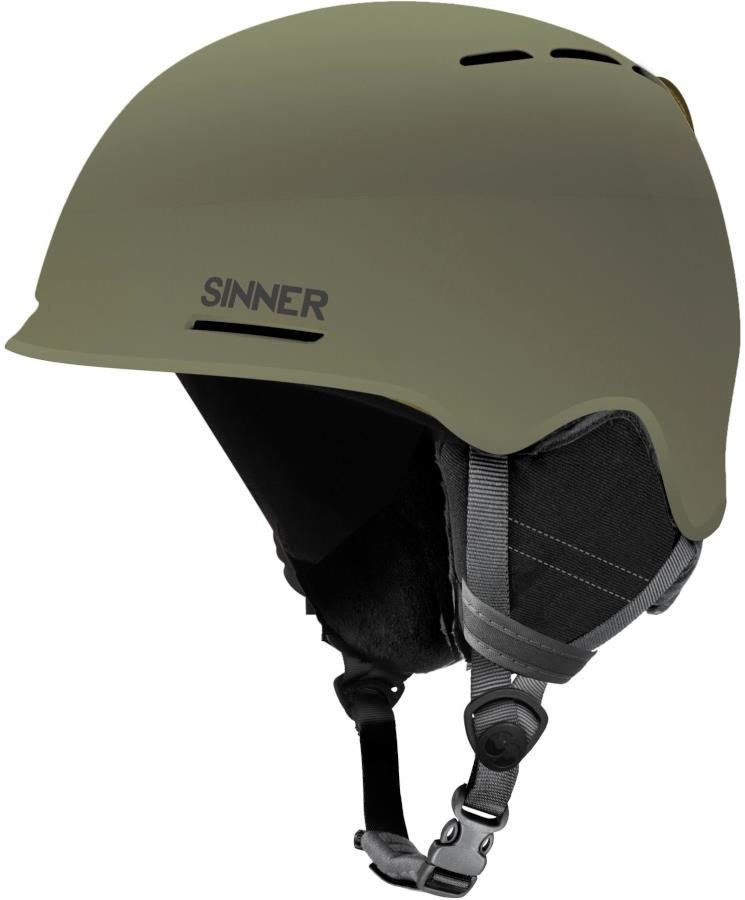Sinner Fortune Ski/Snowboard Helmet L Matte Mosss Green