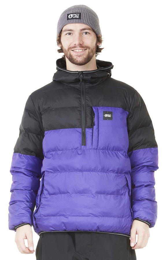 Picture Atlantis Insulated Pullover Jacket, L Purple/Black