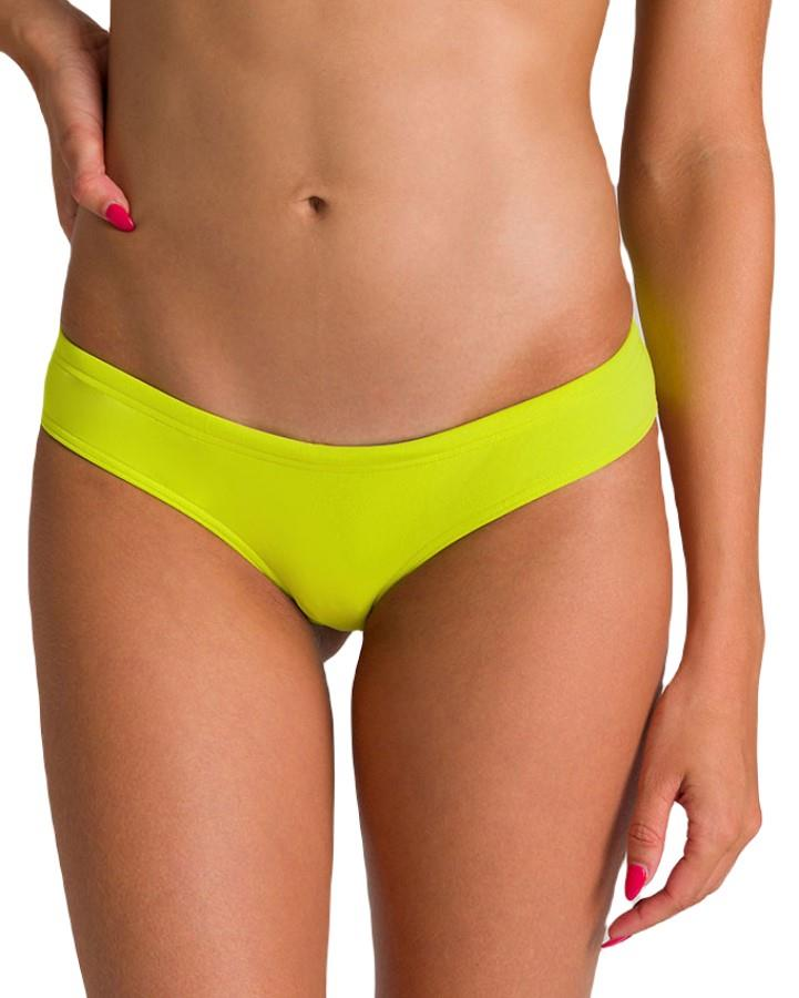 arena Unique Women's Swim Briefs/Bottoms, M Soft Green/Yellow