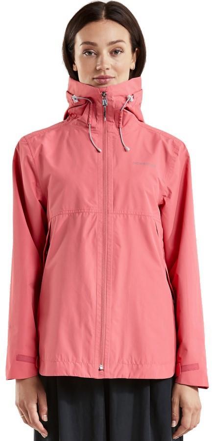 Didriksons Tilde Women's Waterproof Jacket, UK 16 Soft Rose