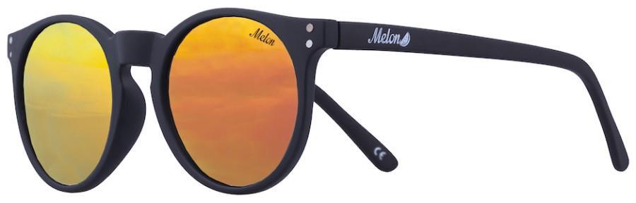 Melon Echo Red Chrome Polarized Sunglasses, M Onyx