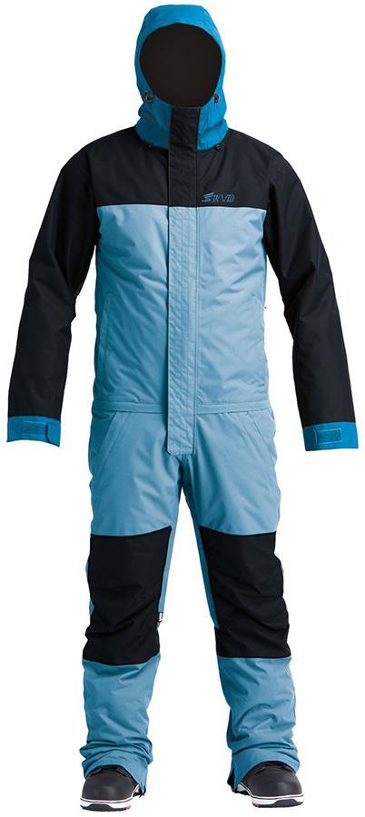 Airblaster Freedom Ski/Snowboard One Piece Suit, M Max Blue