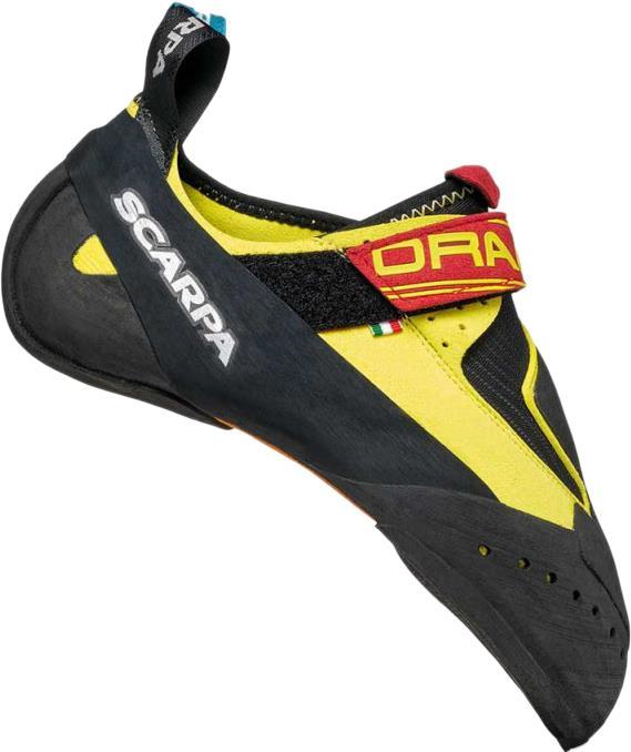 Scarpa Drago Rock Climbing Shoe, UK 3   EU 35.5 Yellow