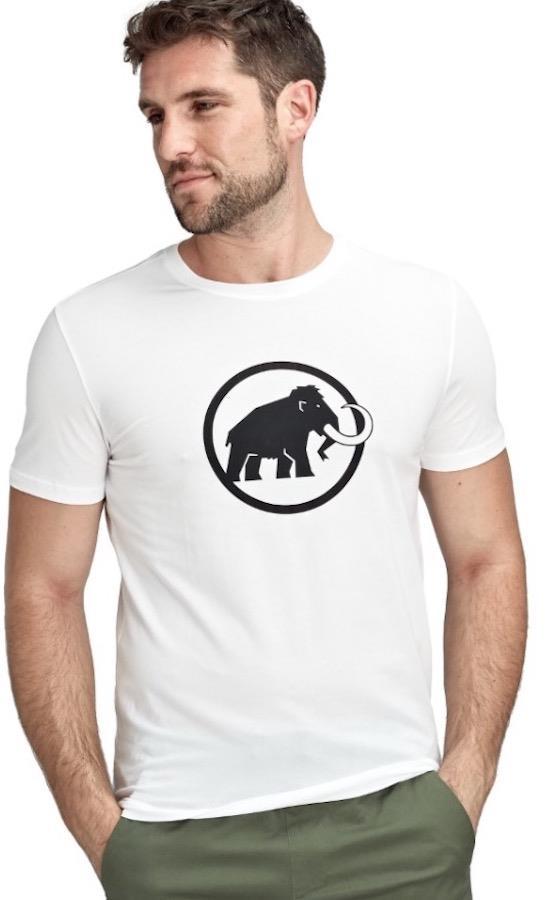 Mammut Logo T-Shirt Short Sleeve Climbing Tee, XL Bright White PRT1