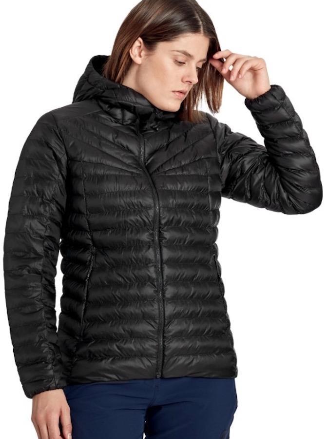 Mammut Albula Insulated Women's Hooded Hiking Jacket, M Black