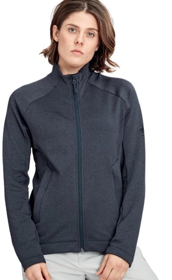 Mammut Nair Mid Layer Jacket Women's Fleece, L Marine Mélange