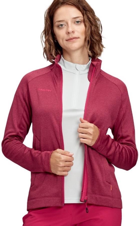 Mammut Nair Mid Layer Women's Half-Zip Pullover, L Sundown Mélange