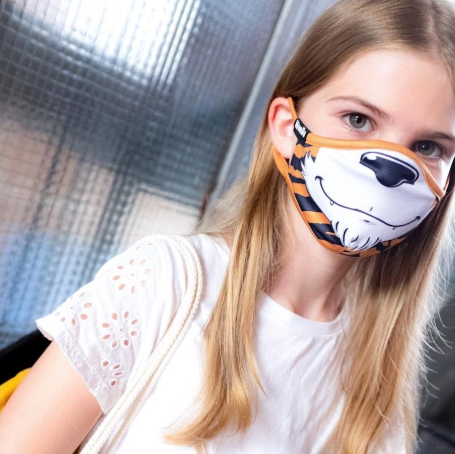 WeeDo Character Kid's Protective Reusable Face Mask, S Tiger