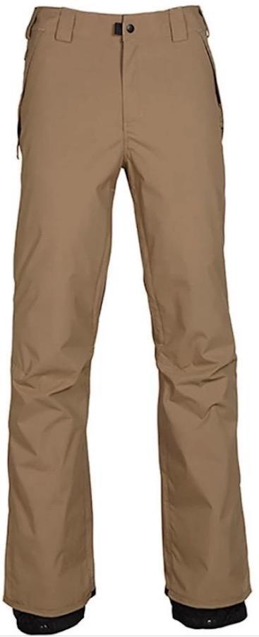 686 Standard Shell Men's Snowboard/Ski Pants, M Khaki