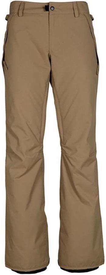 686 Standard Shell Women's Snowboard/Ski Pants, XS Khaki