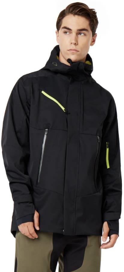 Oakley Crescent 2.0 Ski/Snowboard Jacket, XL Blackout