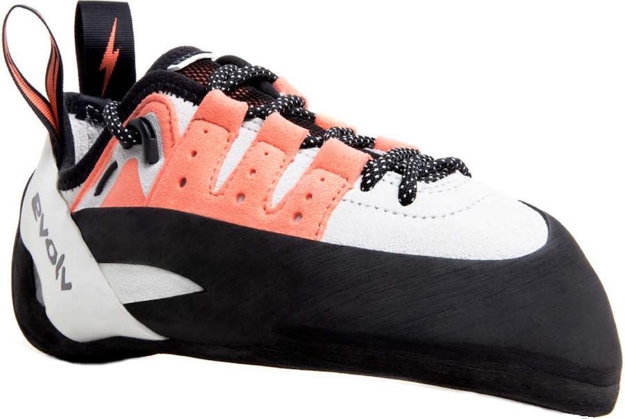 Evolv Geshido Lace Women's Rock Climbing Shoe, UK 5 l EU 38 Coral