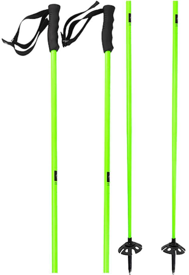 Faction Dictator Pair Of Ski Poles, 115cm Green