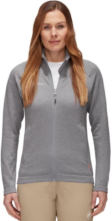 Mammut Nair Mid Layer Jacket Women's Fleece, S Granit Mélange