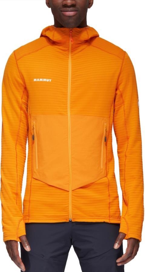 Mammut Aconcagua Light Mid Layer Hooded Fleece Jacket, L Dark Radiant