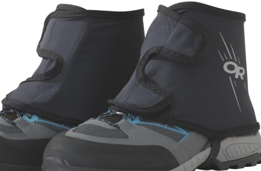 Outdoor Research Overdrive Boot Wrap Gaiters, L/XL Black