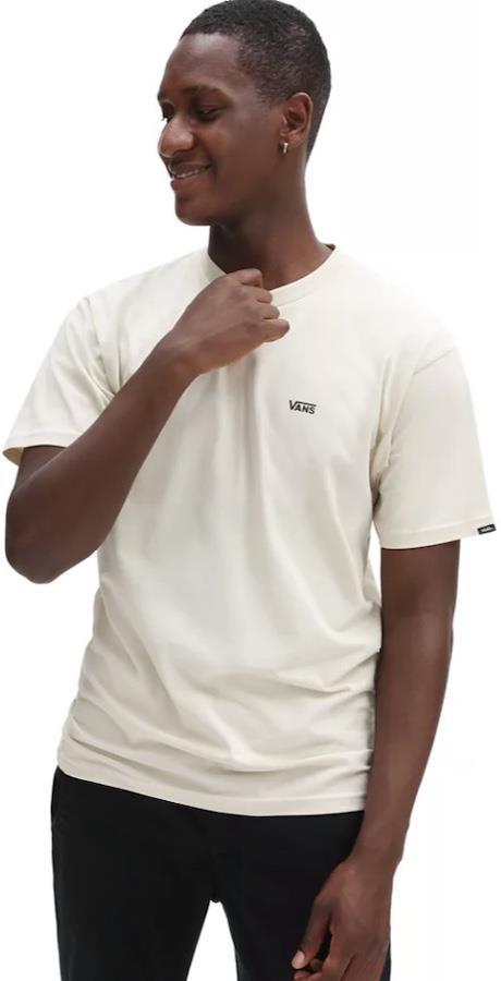 Vans Left Chest Logo Men's Short Sleeve T-Shirt, XL Oatmeal