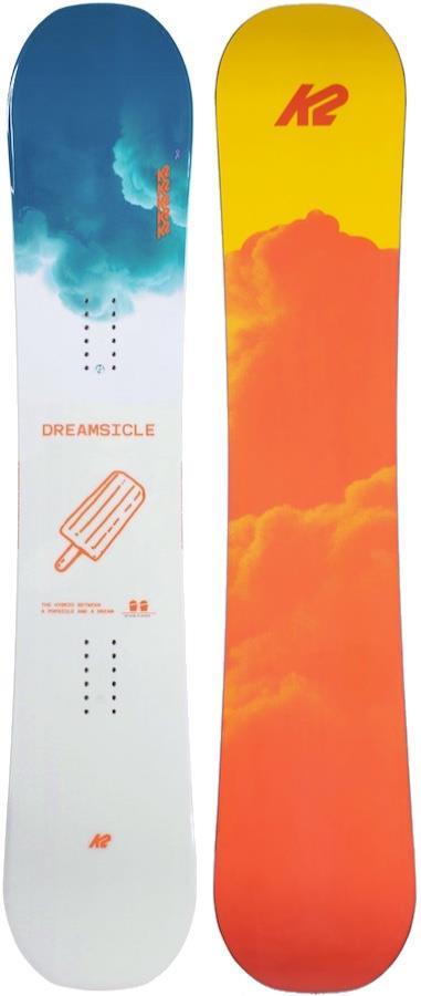 K2 Dreamsicle Women's Rocker Snowboard, 153cm 2021