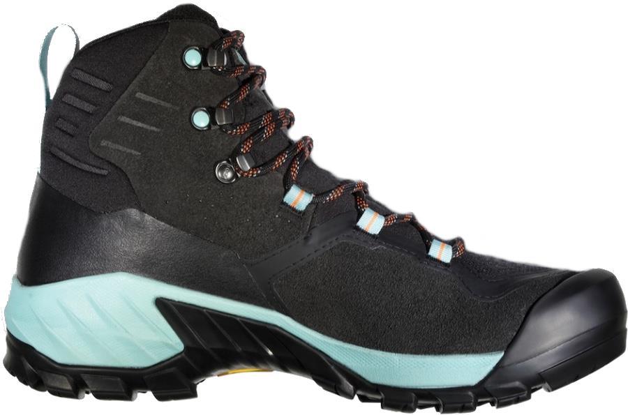 Mammut Sapuen High Gore-Tex Women's Hiking Boots, UK 4 Black/Frosty