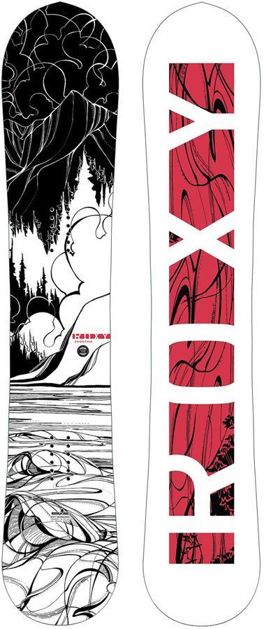 Roxy Smoothie C2 Women's Hybrid Rocker Snowboard, 152cm 2020