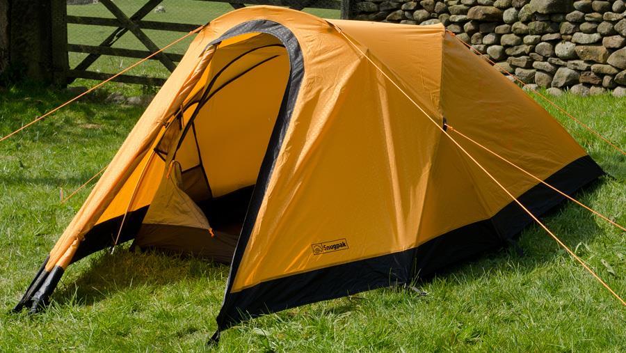 Snugpak Journey Duo Backpacking & Camping Tent, 2 Man Sunburst