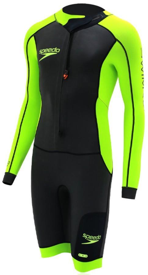 Speedo Fastskin Swimrun Fullsuit 2.0 Performance Wetsuit, ST Black