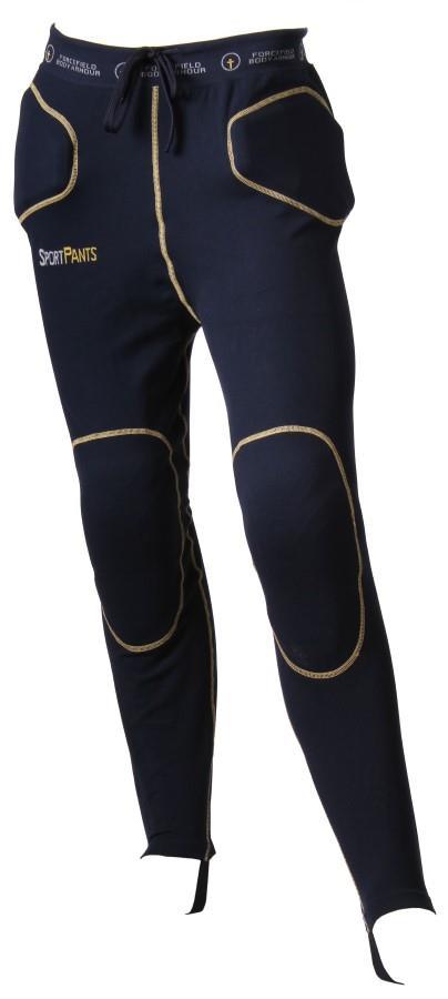 Forcefield Sport Pants Level 1 Impact Crash Pants, M Navy/Yellow
