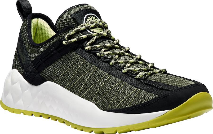 Timberland Solar Wave Low Fabric Walking Shoes, UK 7 Dark Green