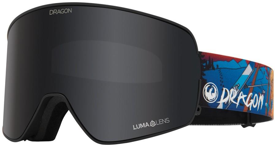 Dragon NFX2 Snowboard/Ski Goggles, M Teddy