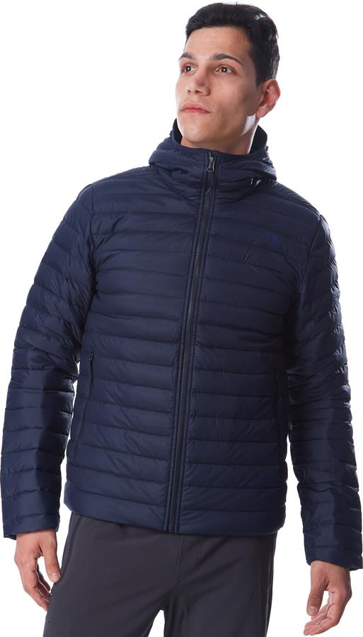 The North Face Stretch Down Insulated Hooded Jacket, M Aviator Navy