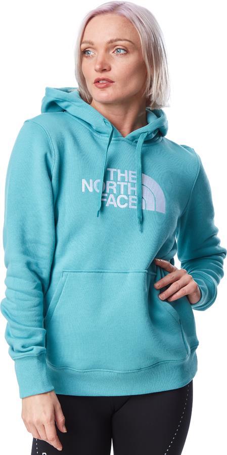 The North Face Womens Drew Peak Women's Pullover Hoodie, Uk 10 Bristol Blue