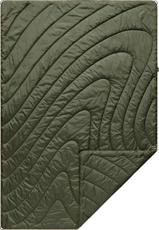 Rumpl Original Puffy Camping & Outdoor Blanket, 1P Cypress