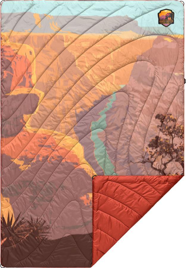 Rumpl Original Puffy Camping & Outdoor Blanket 1P Grand Canyon