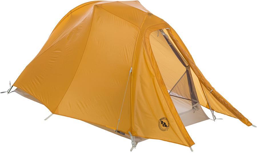 Big Agnes Solo Trail SL1 Ultralight Hiking Tent, 1 Man Gold