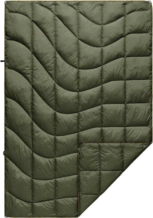 Rumpl Nanoloft Puffy Lightweight Outdoor Blanket, 1P Cypress